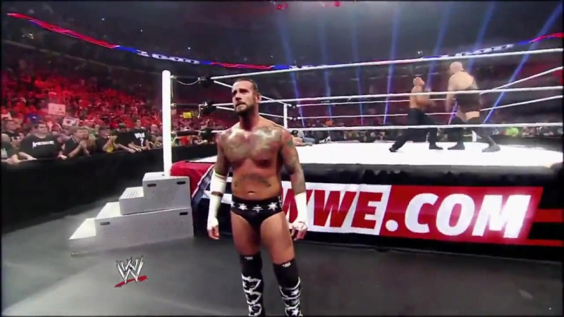 CM Punk vs The Rock - Royal Rumble 2013 Promo