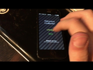 iPhone 5 CoolBooter iOS 6 demo