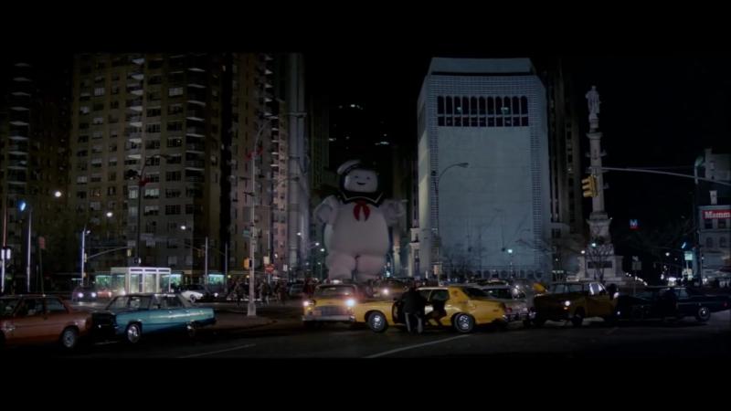 Охотники за Привидениями | Ghostbusters (1984) Зефирный Человек | Stay Puft Marshmallow Man