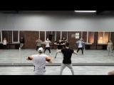 Choreography by Sasha Putilov (N'Sync Pop) boys