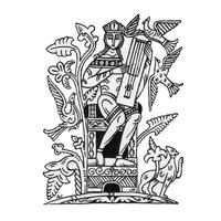 Логотип Гуслег л вый - гусли в Тюмени [Тюмень]