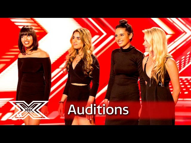 Can Four Of Diamonds get 4 Yeses with Meghan Trainor's No   Auditions Week 4   The X Factor UK 2016