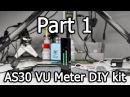 AS30 LED VU Meter DIY Kit Part 1 3 Unboxing Banggood PID 1008247