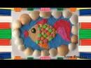 Картины из пластилина. Рыбка. Наше всё!
