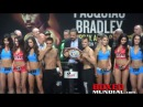 Official Weigh-in: Oscar Valdez 125.5 vs. Evgeny Gradovich 126