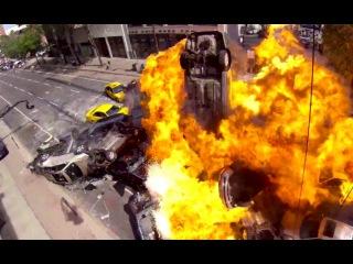 FAST 8 Production Featurette - Massive Car Explosion Stunt (2017) Vin Diesel Action Movie HD
