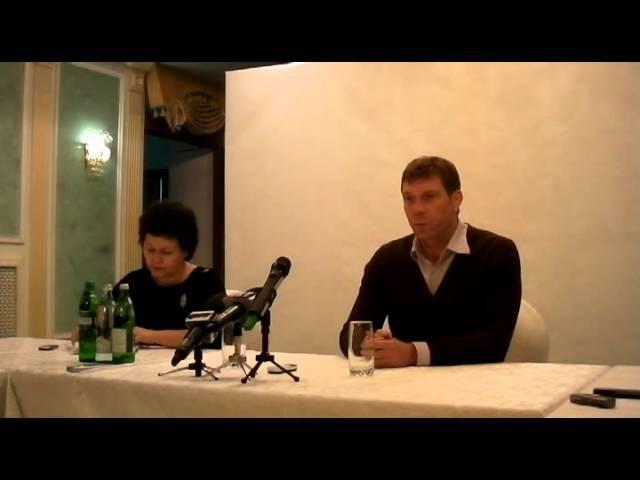 Олег Царёв в Луганске