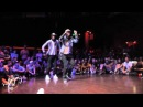 Батл, хип хоп танцы Les Twins vs Zamounda
