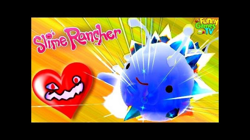 Slime Rancher 10 Веселая игра мультик про ферму слизи развивающее видео для детей про лизунов мульт