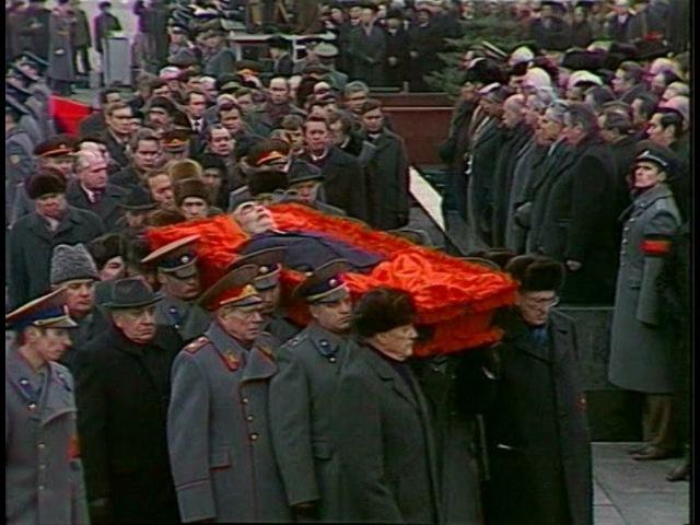 HD Soviet Leader Leonid Brezhnev Funeral Похороны Брежнева