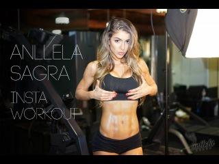 ANLLELA SAGRA - Instagram Workout Videos (FitABS)