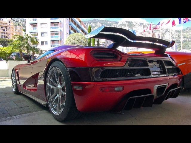 21 Year Old Boy Drives His 1400HP Koenigsegg Agera R in Monaco