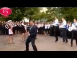 Директор саратовского лицея зажег в танце на последнем звонке