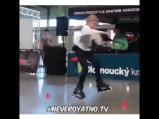 Как научится кататься на роликах