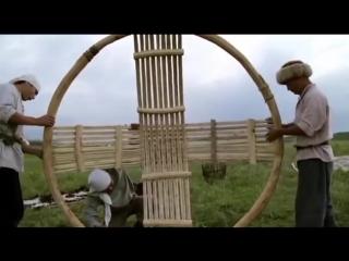 Декоративно-прикладное искусство казахов - Казахская юрта