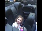 Дядя убедил племянницу что машина её проглотит