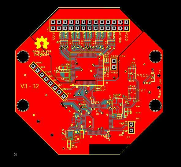 OpenBCI 8 channel clone with STM32 processor — OpenBCI Forum