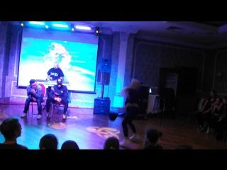 Академия Москва ноябрь 2016 Танцевальный баттл полуфинал Лопухова Люба