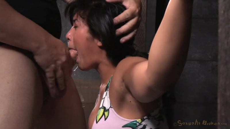 BDSM Mia Li Девушку девочку насильно имеют трахают жестко