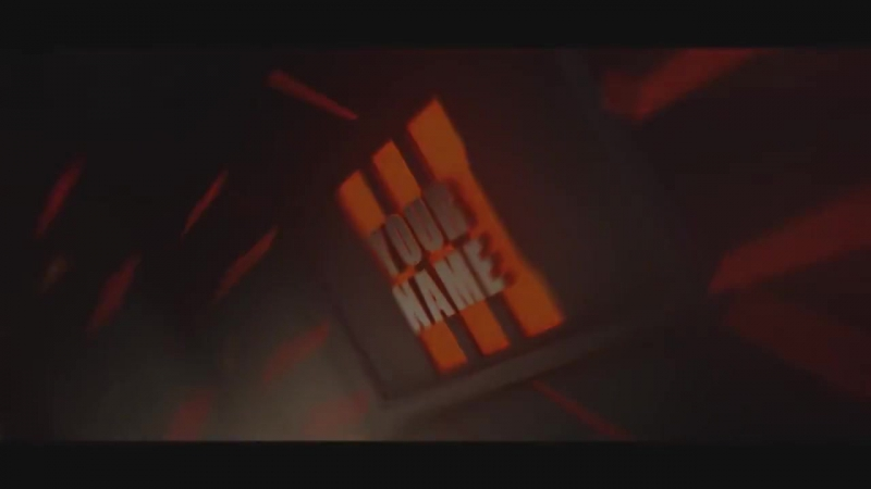 Free 3D Intro 38 - Black Ops 3 Cinema 4D-AE Template
