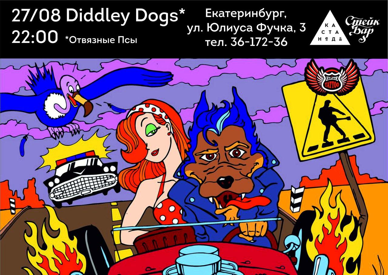 27.08 Diddley Dogs в KastaNeDa Bar!