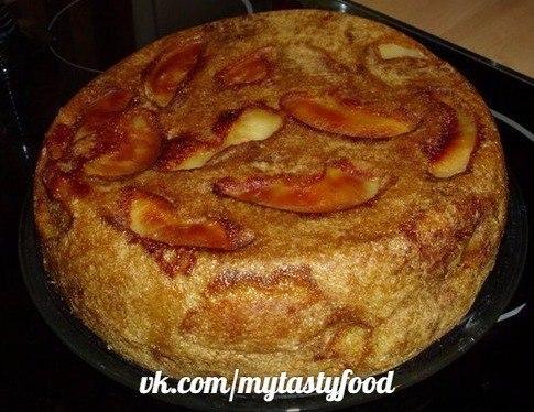 Шарлотка с яблоками обычная рецепт с фото пошагово в духовке