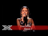 Emily Middlemas sparkles with Stop in The Name of Love  Live Shows Week 2  The X Factor UK 2016