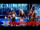 Four of Diamonds make their debut! | Live Shows Week 2 | The X Factor UK 2016