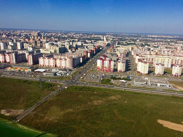 Обзорный полет. Ми-8. Тюмень 2016.