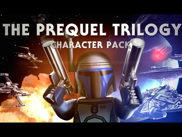 The Prequel Trilogy Character Pack - LEGO Star Wars - The Force Awakens Gameplay