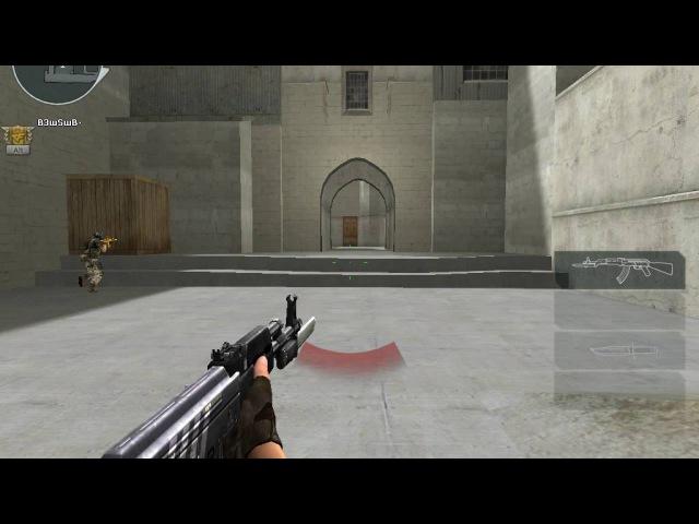 CrossFire ArxGaming|Геймплей с оружием (AK47-Knife Adv)- (Dust 2)