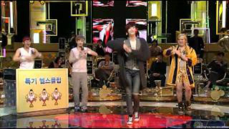 110215 Lee Jongsuk (이종석) dances to Orange Caramels A~ing♡