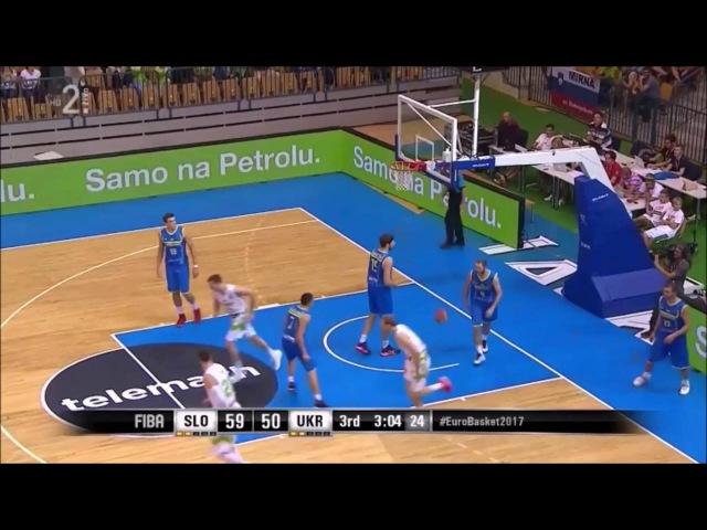 Zoran Dragic Full Highlights Slovenia Ukraine 28pts 7reb 2ast