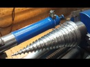 Как изготовить дровокольную морковку в гараже