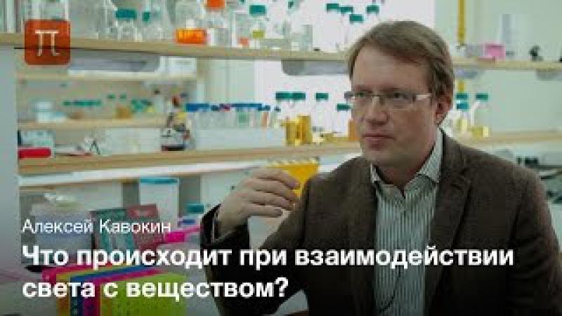 Теория взаимодействия света и вещества в наноструктурах - Алексей Кавокин