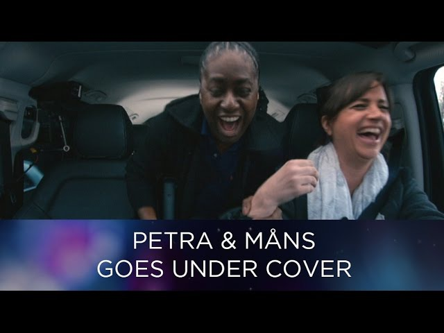 Undercover taxi Part 1 - Måns and Petra as taxi drivers for Eurovision fans in Stockholm