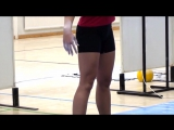Ksenia Dedyukhina - kettlebell snatch technique _ Ксения Дедюхина - техника рывка гири