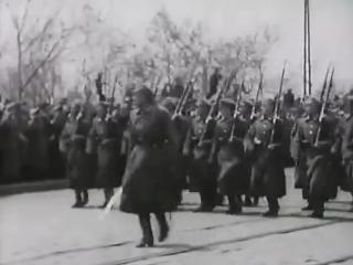 1922 год. Владивосток. Последний парад Белой Гвардии