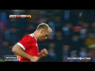 Россия - Румыния 1:0. Обзор товарищеского матча.