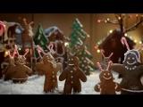 Lowes посвятили рождественский ролик забавному имбирному прянику.