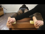 UKTickling - Angelinas Face-Down Tickle Torment