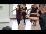 Семинар по женским техникам в танго от Марианы Солер(Буэнос-Айрес)