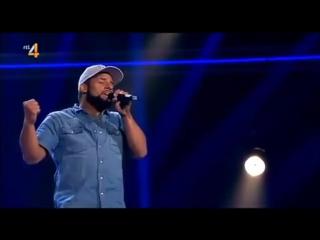 Реинкарнация Bob Marley на шоу голос Голландии, БОБ МАРЛИ ЖИВ