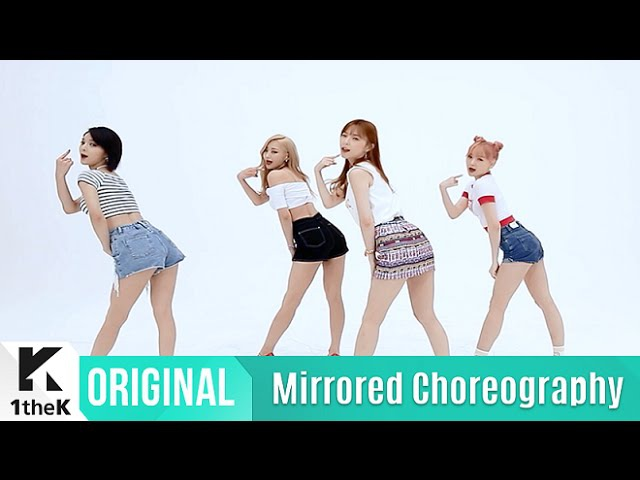 [Mirrored] 9MUSES A(나인뮤지스A)_Lip 2 Lip Choreography(입술에 입술 거울모드 안무영상)_1theK Dance Cover Contest