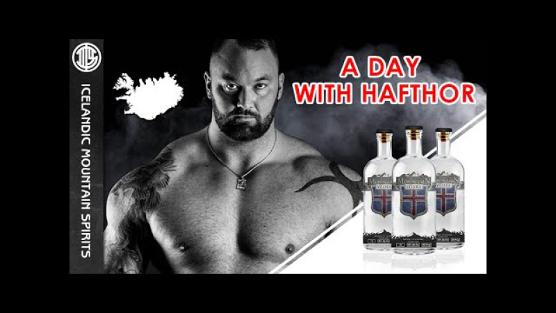 Icelandic Mountain Vodka™ A day with Hafthor