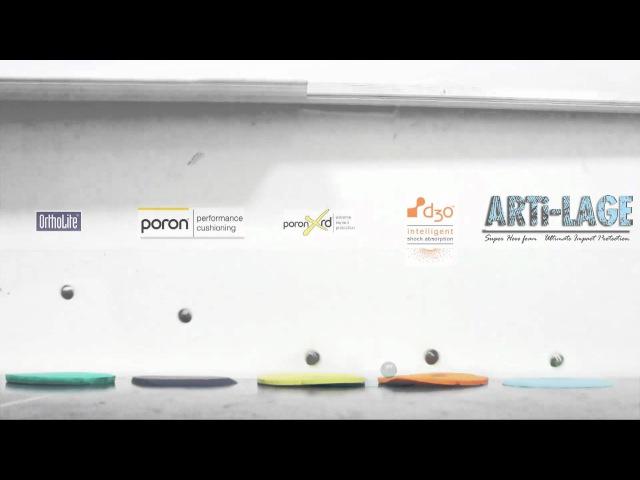 PORON XRD - D3o - Artificial Cartilage Impact Test