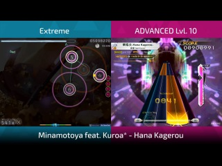 Osu!, Sound Voltex (KSM) double FC : Hana Kagerou