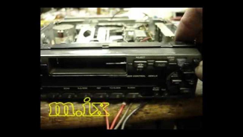 ремонт автомагнитол измайлово Kenwood KRC-3701Y.wmv