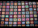 Одеяло бабушкин квадрат Мотивы крючком Часть 1 вяжем мотив Afgan blanket Easy pattern