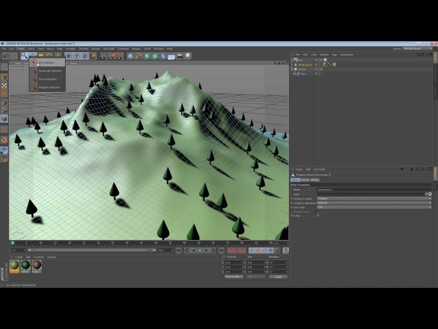 Five Minute Tip - Constraining Objects to a Surface in Cinema 4D